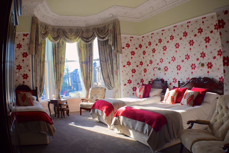 Family Bed and Breakfast Rooms In Edinburgh at Gifford House B&B